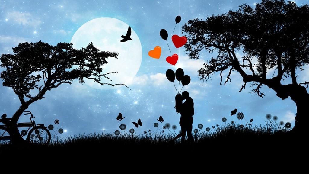 Romantikwochenende zu weit